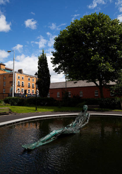 County Dublin Photograph - Anna Livia Sculpture In The Croppie by Panoramic Images