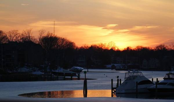 Wall Art - Photograph - Annapolis Sunset by Valia Bradshaw