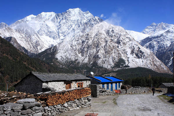 Photograph - Annapurna Mountain View, Nepal by Aidan Moran