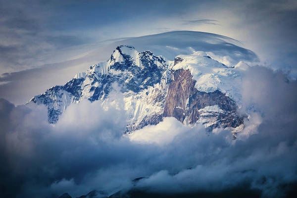 Wall Art - Photograph - Annapurna Range by Adrian Popan