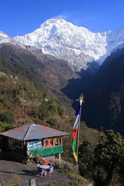 Photograph - Annapurna South, The Himalayas, Nepal by Aidan Moran