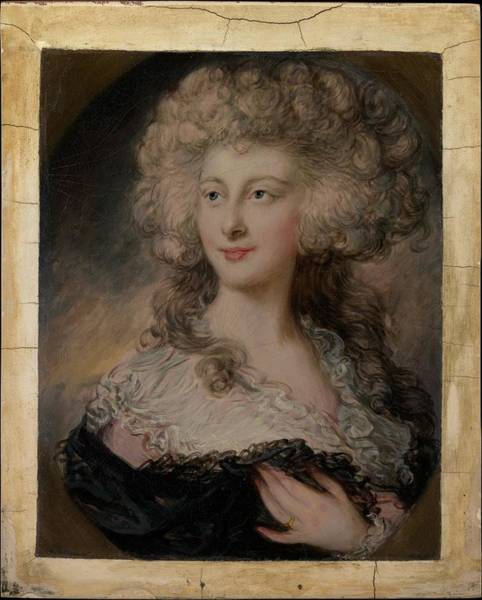 Dupont Wall Art - Painting - Anne Elizabeth Cholmley 1769-1788 by Gainsborough Dupont