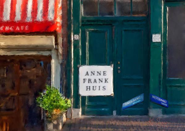 Houseboat Photograph - Anne Frank House. Amsterdam by Juan Carlos Ferro Duque