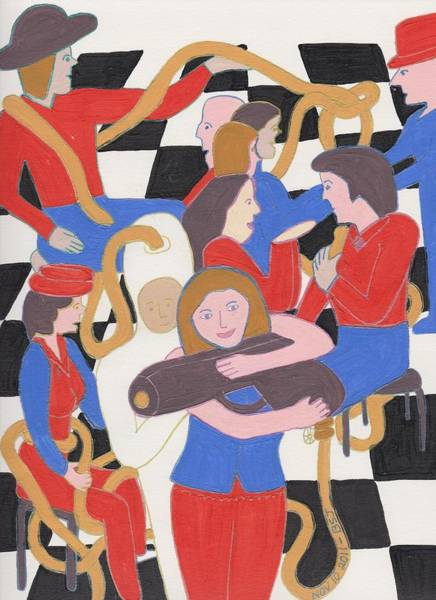 Painting - Annie Get Your Gun by Barbara St Jean