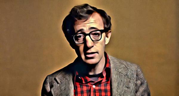 Painting - Annie Hall by Florian Rodarte