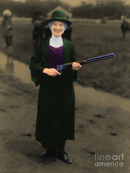 Photograph - Annie Oakley 20130514 by Wingsdomain Art and Photography