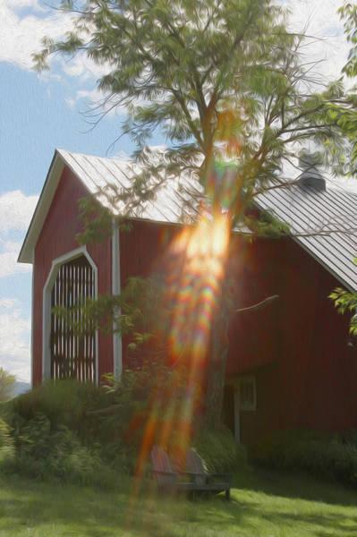 Waitsfield Photograph - Ann's Barn by Patsy Zedar