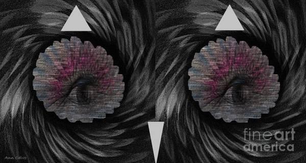 Mixed Media - Ann's Owl 1 by Ann Calvo