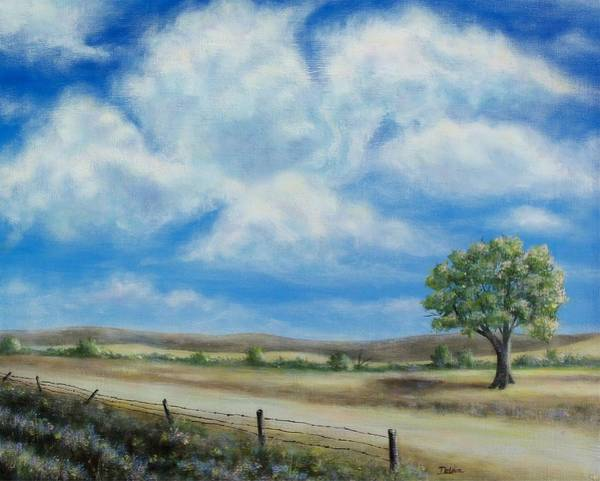 Angel Oak Painting - Another Cloudy Day by Susan DeLain