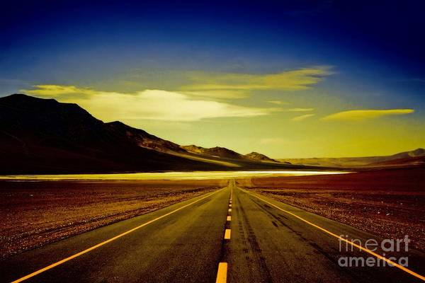 Photograph - Another Endless Road by Karla Weber