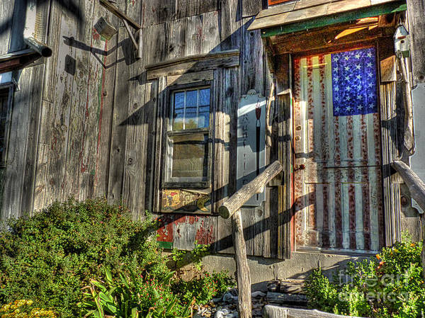 High Dynamic Range Digital Art - Another Faded Glory by William Fields