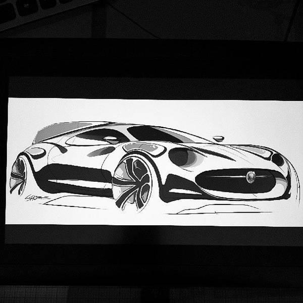 Jaguar Photograph - Another Little Jaguar Sketch Of My H by Landon Shore