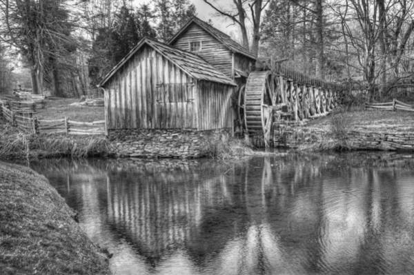 Photograph - Another Look At The Mabry Mill by Gregory Ballos