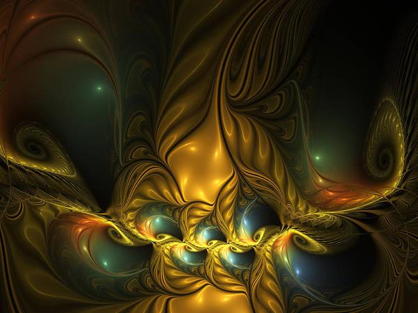 Phantasy Digital Art - Another Mystical Place by Gabiw Art
