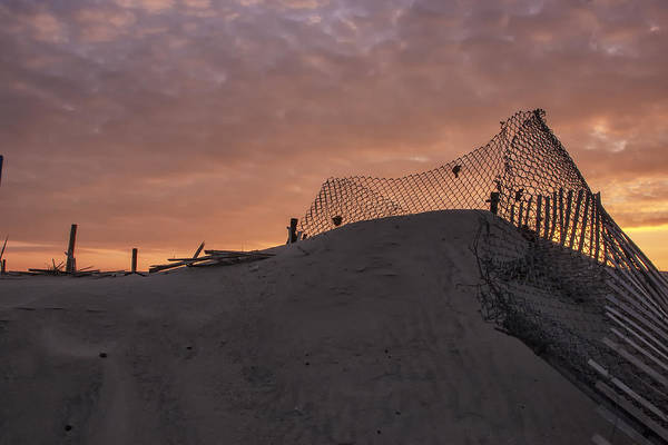 Photograph - Another Sandy Fence by Tom Singleton