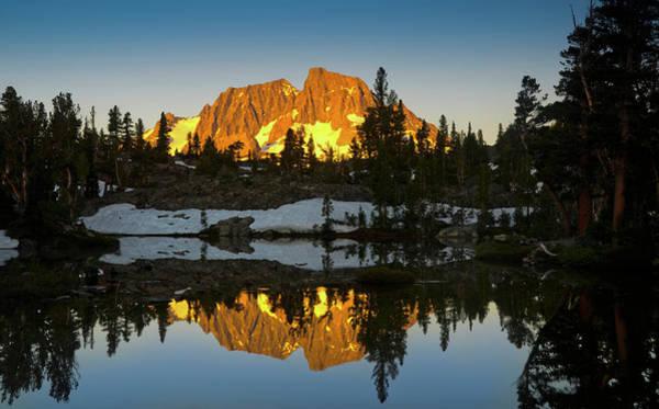 Alpenglow Photograph - Ansel Adams Wilderness, Ca, Usa, Mount by Mark Williford