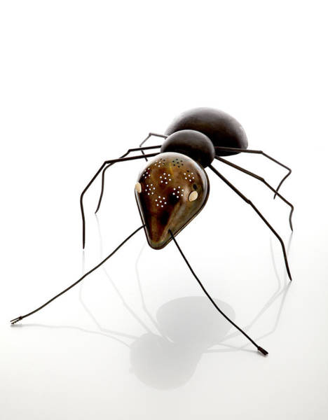Antenna Painting - Ant by Lawrie Simonson