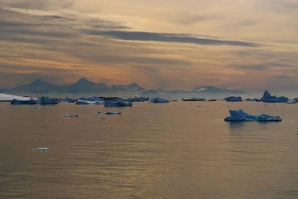 Wall Art - Photograph - Antarctic Ice by FireFlux Studios