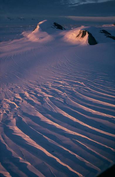 Antarctic Wall Art - Photograph - Antarctic Midnight Sun by British Antarctic Survey/science Photo Library