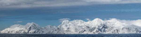 Wall Art - Photograph - Antarctica, Elephant Island, Panorama by George Theodore