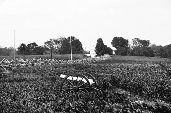 Photograph - Anteitam Battle Field In Black And White by Bill Cannon