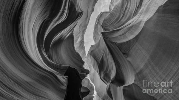 Photograph - Antelope Canyon Bw by Michael Ver Sprill