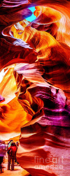 Antelope Wall Art - Photograph - Antelope Canyon Tour by Az Jackson