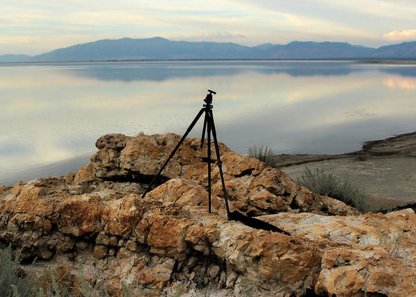 Mark Coleman Wall Art - Photograph - Antelope Island Sunset - 3 by Ely Arsha