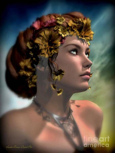 Digital Art - Antheia by Sandra Bauser Digital Art
