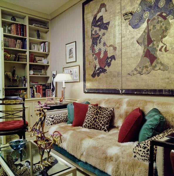 Wall Art - Photograph - Anthony De Portago's Bedroom by Horst P. Horst