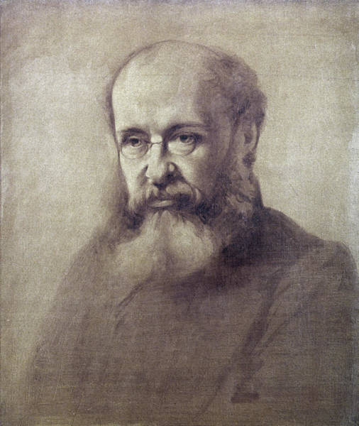Pince Nez Painting - Anthony Trollope (1815-1882) by Granger
