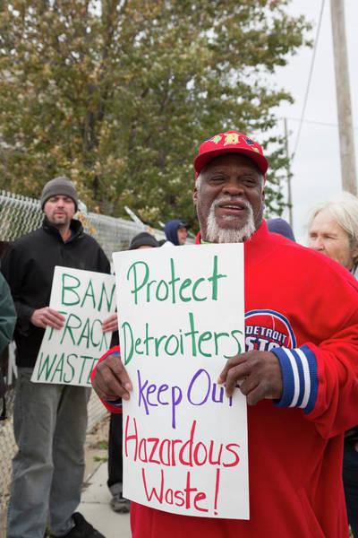 Demonstrators Photograph - Anti-fracking Demonstration by Jim West