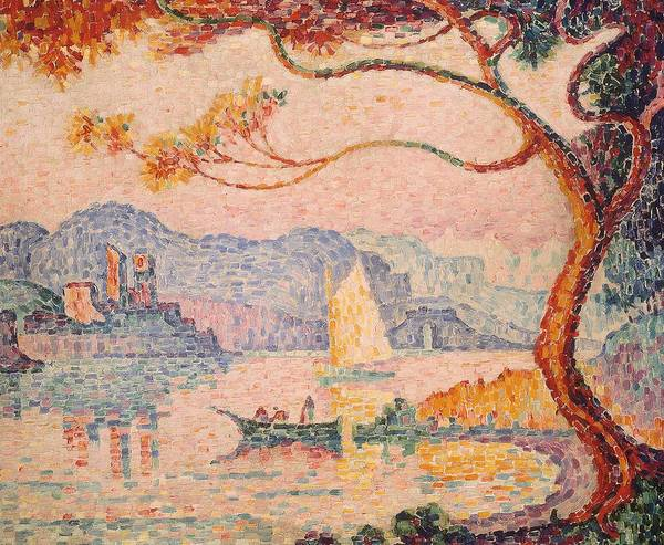 Bacon Wall Art - Painting - Antibes  Petit Port De Bacon by Paul Signac