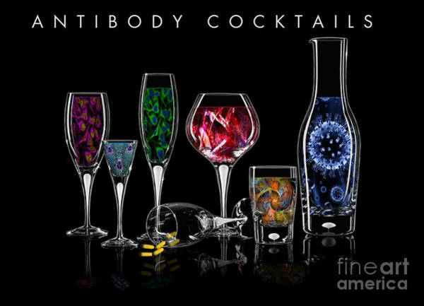 Digital Art - Antibody Cocktails by Megan Dirsa-DuBois
