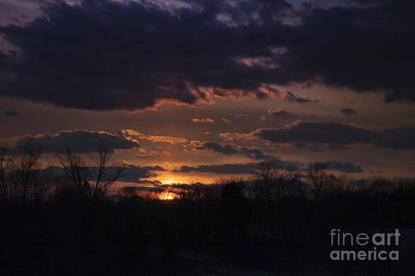 Photograph - Antietam Sunset by Ronald Lutz
