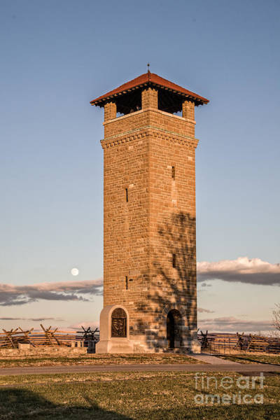 Photograph - Antietam's Stone Tower by Ronald Lutz