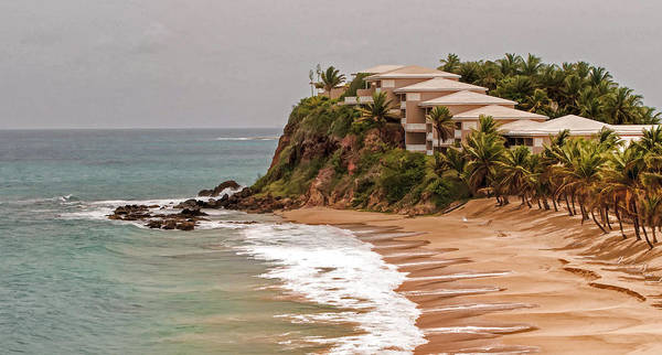Photograph - Antigua Coastline by Gary Slawsky