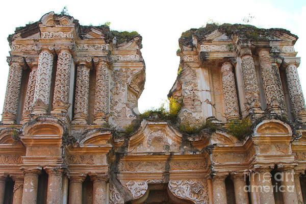 Guatemala Photograph - Antigua Ruins by Carey Chen