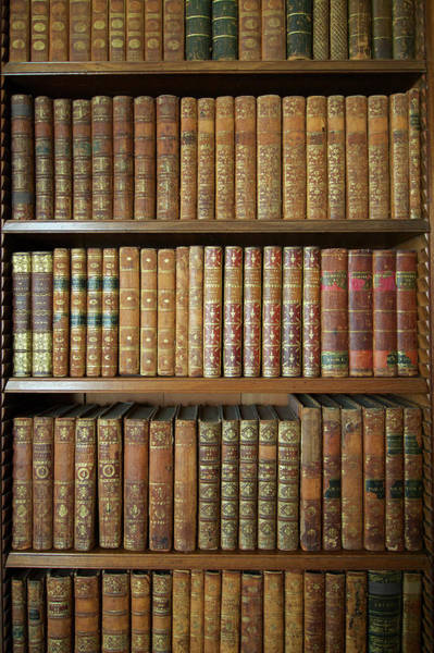 Wall Art - Photograph - Antiquarian Books In A Library by Jamie Marshall - Tribaleye Images