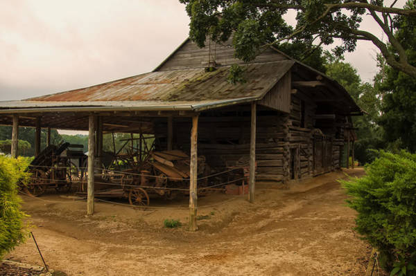 Digital Art - Antique Barn by Chris Flees