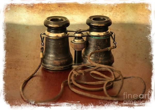 Photograph - Antique Binoculars by Carol Groenen