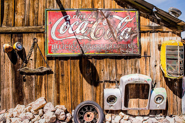 Photograph - Antique Building At The Techatticup Gold Mine by  Onyonet  Photo Studios