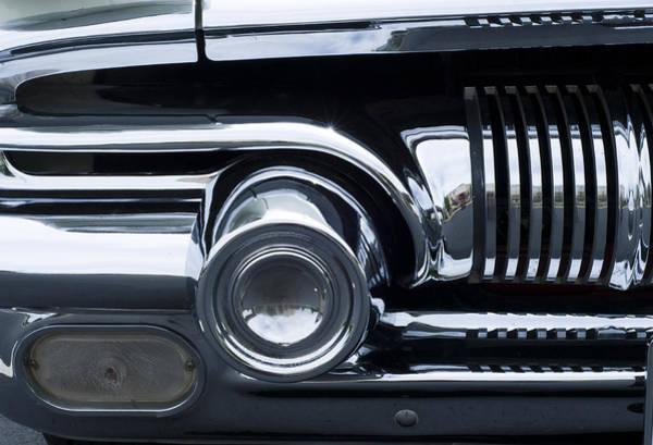 Photograph - Antique Car Grill by Lynn Hansen