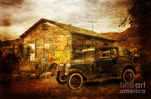 Wall Art - Photograph - Antique Car  Hackberry Route 66  by Heinz G Mielke