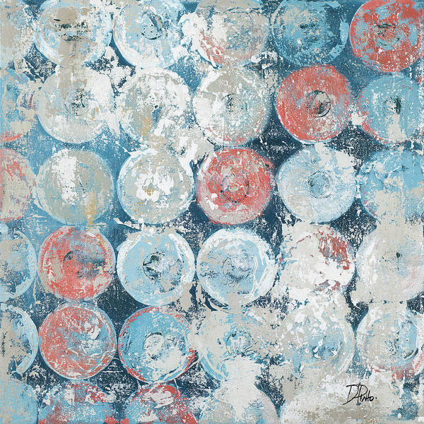 Wall Art - Painting - Antique Decorative Circles by Patricia Pinto