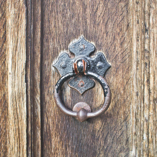 Privacy Photograph - Antique Door Handle by Tom Gowanlock