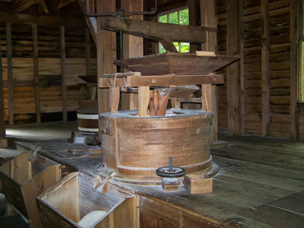Digital Art - antique Grist Mill  by Chris Flees