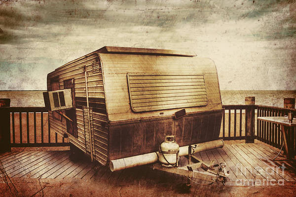 Trailer Photograph - Antique Holidays by Jorgo Photography - Wall Art Gallery