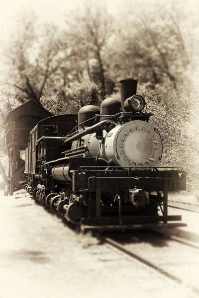 Wall Art - Photograph - Antique Locomotive by Jane Rix