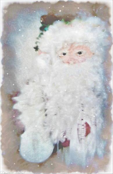 Photograph - Antique Music Santa 2  by Danielle  Parent